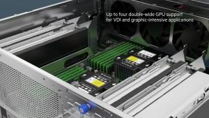 Serwery HPE ProLiant DL180 Gen10 posiadają 2 porty Ethernet oraz kilka portów w USB 3.0